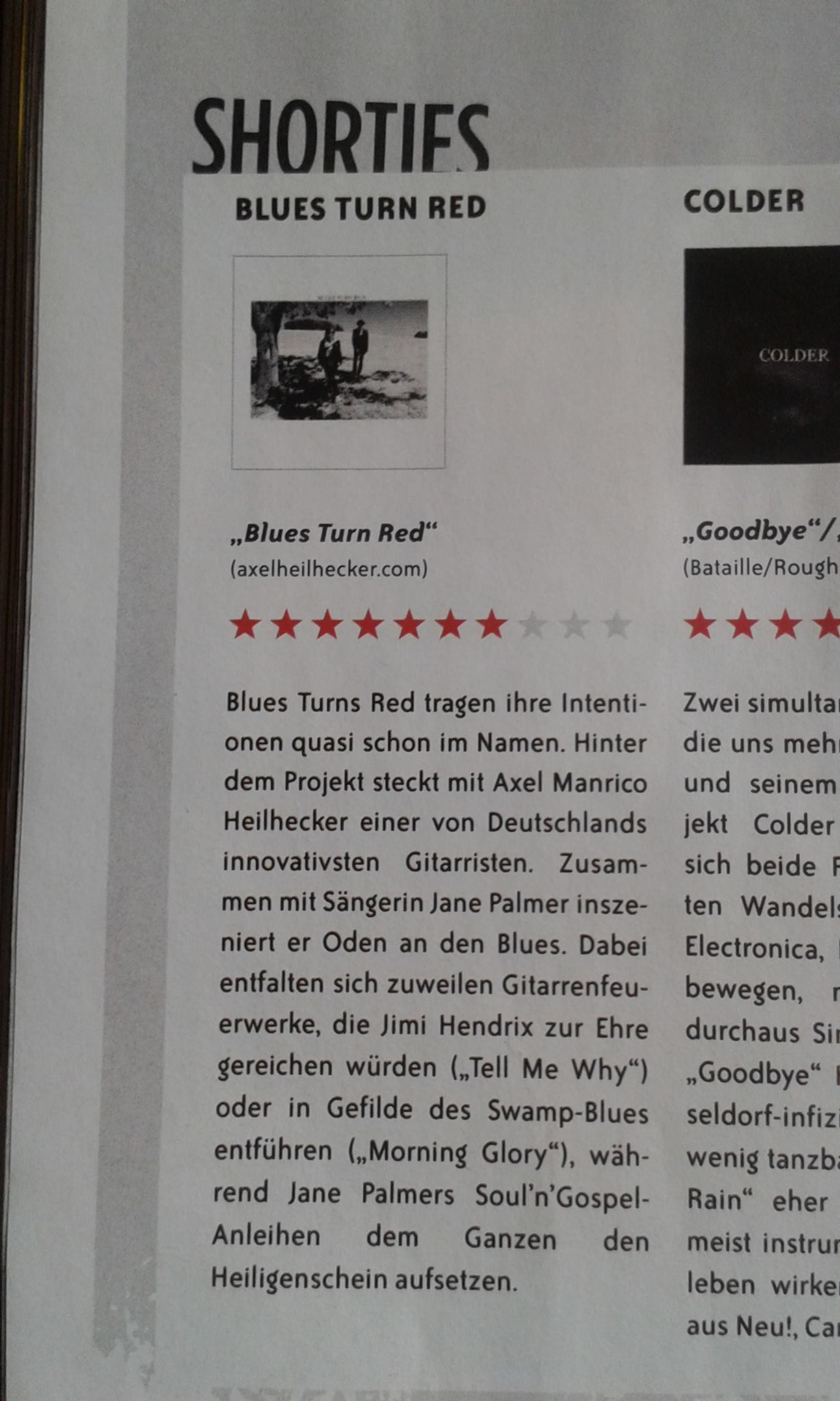 Eclipsed Magazine Review - Blues Turn Red